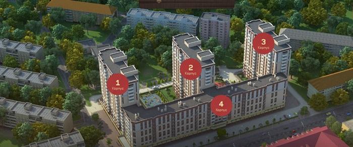 Квартира Калининград, Советский проспект, 87