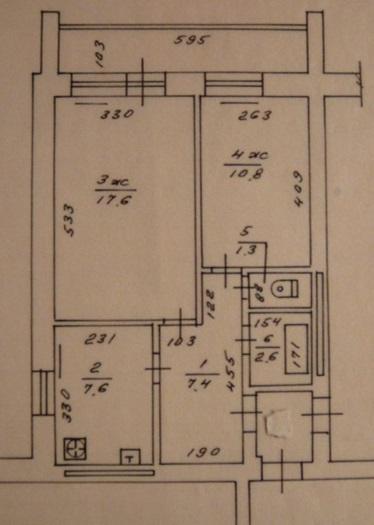 Квартира Калининград, Красносельская улица, 67б