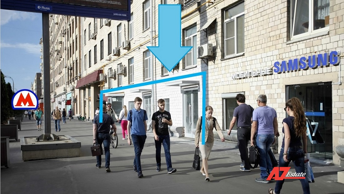 аренда торговых помещений 24,9 м2 рядом с м. Алексеевская - фото 2