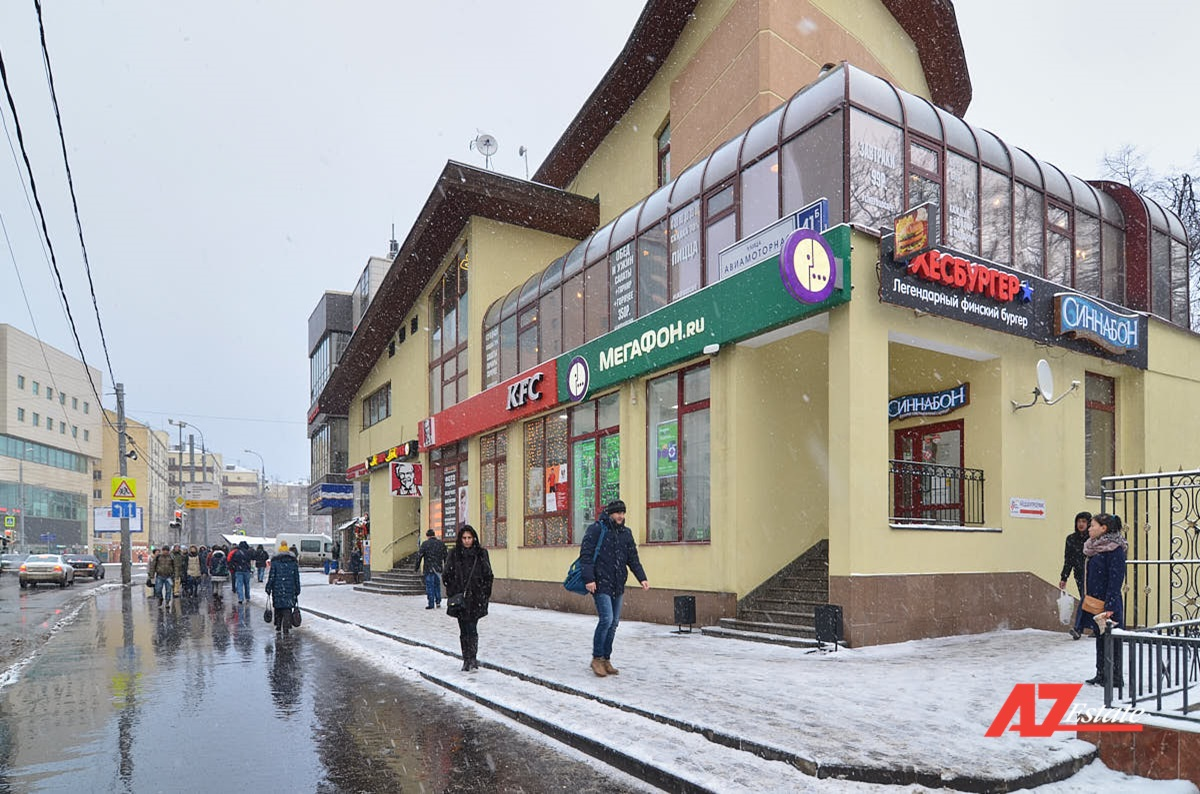 Аренда ресторана 342,8 кв.м на Авиамоторной - фото 1