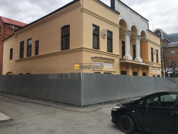 Историческое здание  по адресу Семакова,4 ...