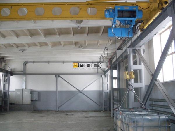 Сдам производственное складское с кран - балкой аренда