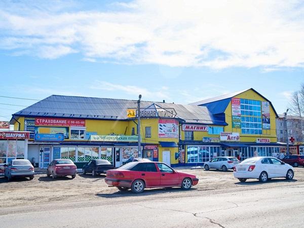 Торговый центр  по адресу с.Червишево,ул.Строителей 6а.
