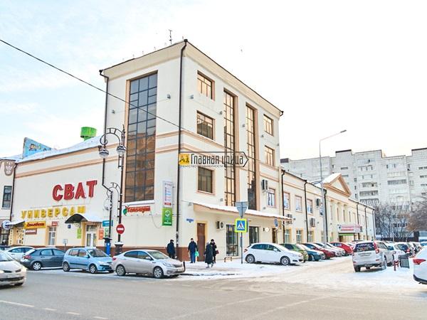 Отдельно стоящее здание в центре Тюмени  по адресу Республики,42 ...