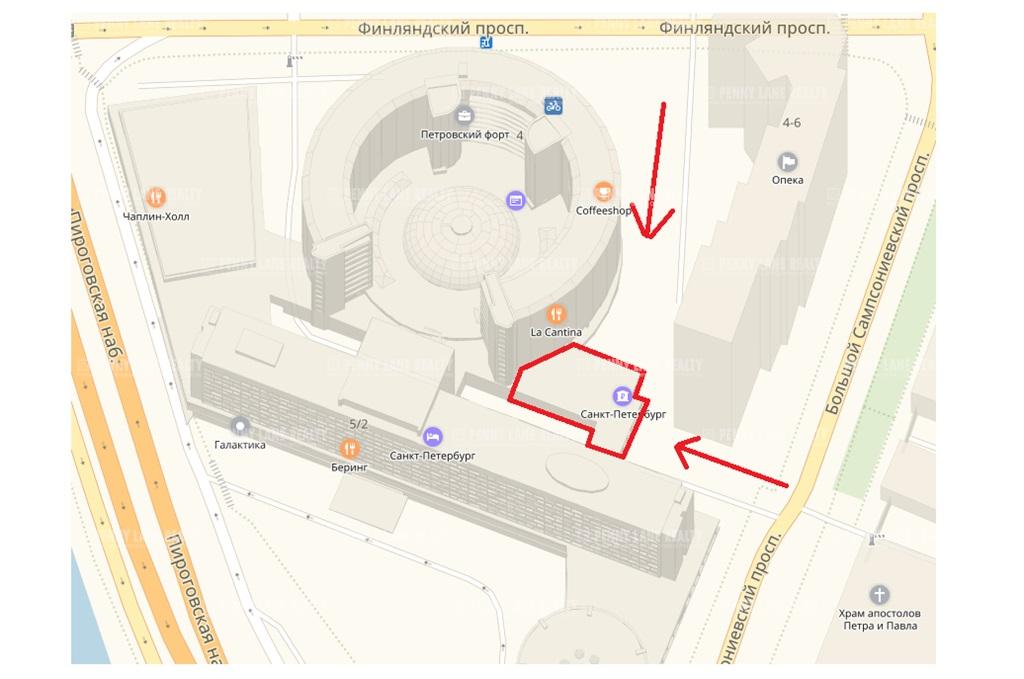 Продажа помещения 525.70 кв.м. Выборгский пр-кт Финляндский, 4А - фотография №6