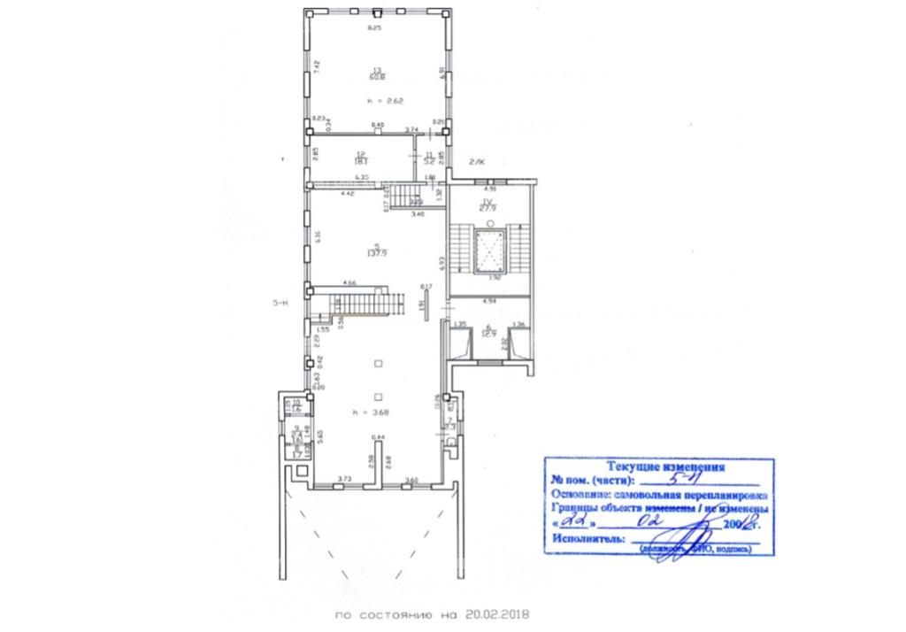 Продажа помещения 342.70 кв.м. Василеостровский пр-кт Средний В.О., 85 - фотография №4