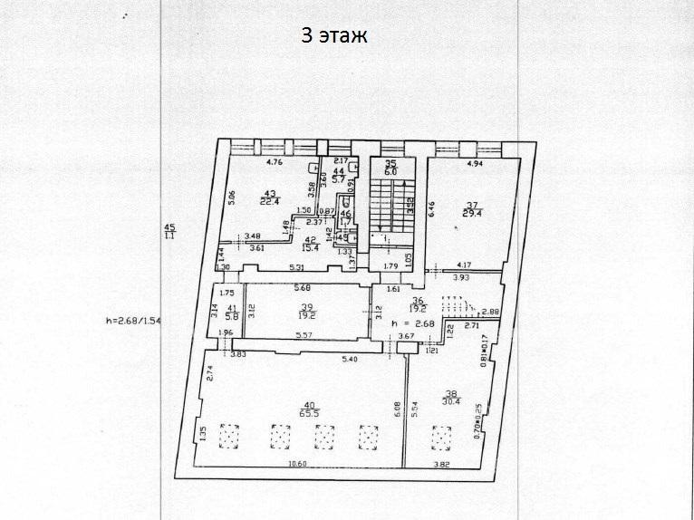 Продажа здания 848.20 кв.м. Адмиралтейский ул. Галерная, 61 - фотография №20