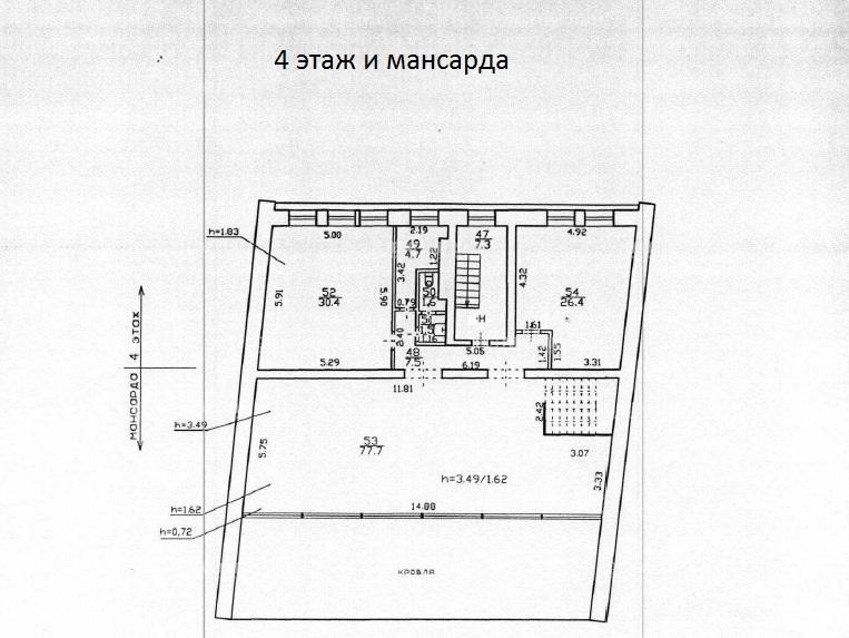 Продажа здания 848.20 кв.м. Адмиралтейский ул. Галерная, 61 - фотография №21
