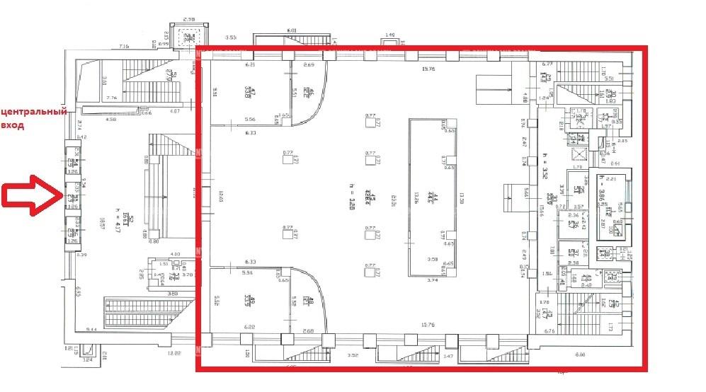 Аренда помещения 2400 кв.м. Приморский ул. Савушкина, 21 - фотография №9