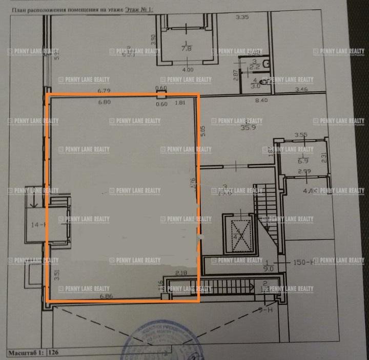 Аренда помещения 120 кв.м. Центральный ул. Кременчугская, 17 - фотография №10