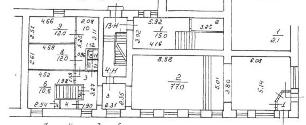 Продажа помещения 245 кв.м. Петроградский пр-кт Большой П.С., 28 - фотография №3