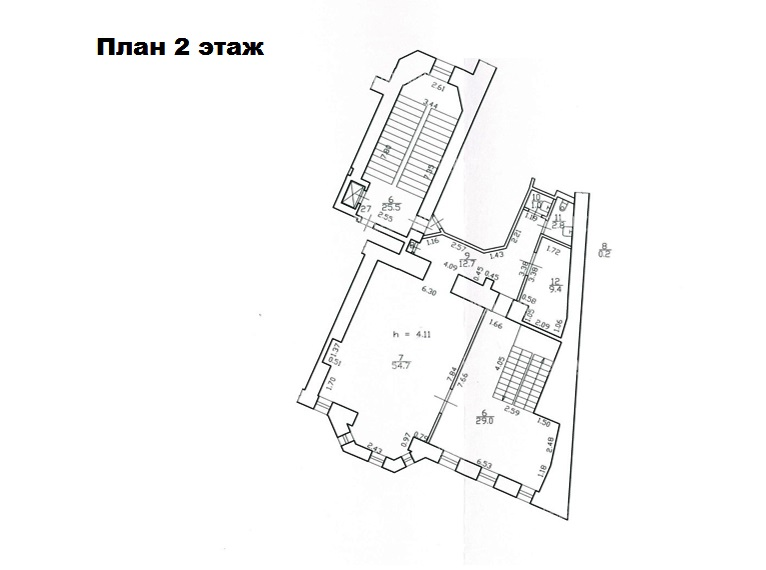 Продажа помещения 300 кв.м. Центральный ул. Большая Конюшенная, 17 - фотография №11
