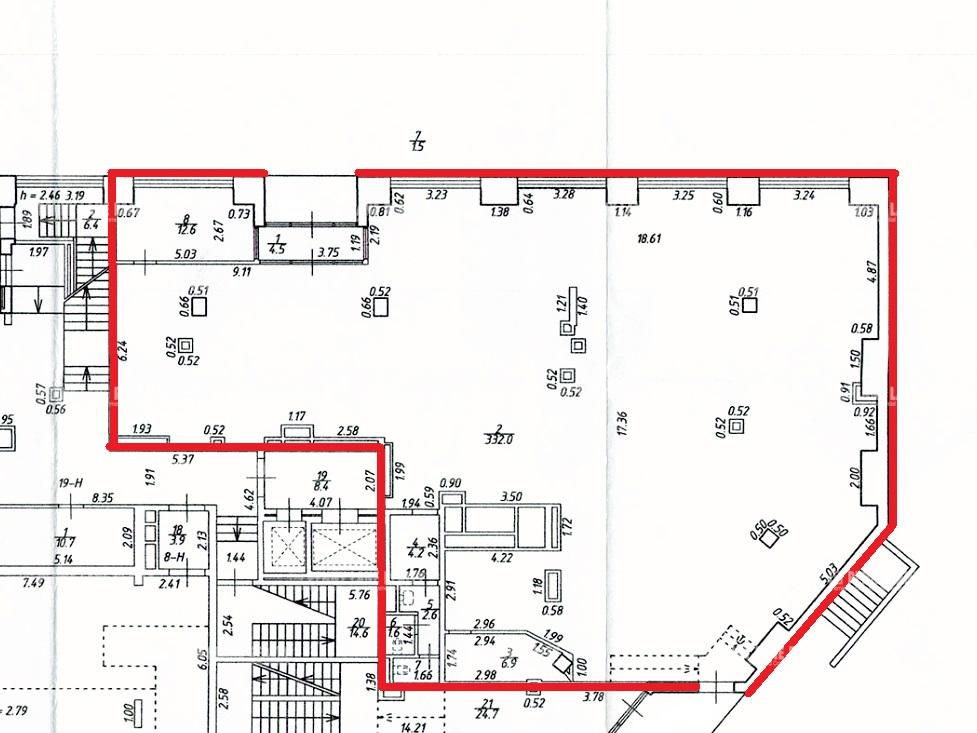Аренда помещения 371.30 кв.м. Центральный пер. Дегтярный, 26 - фотография №7