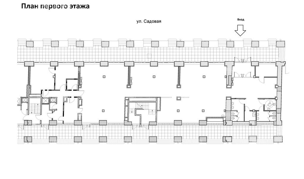 Аренда помещения 610 кв.м. Адмиралтейский ул. Садовая, 62 - фотография №9