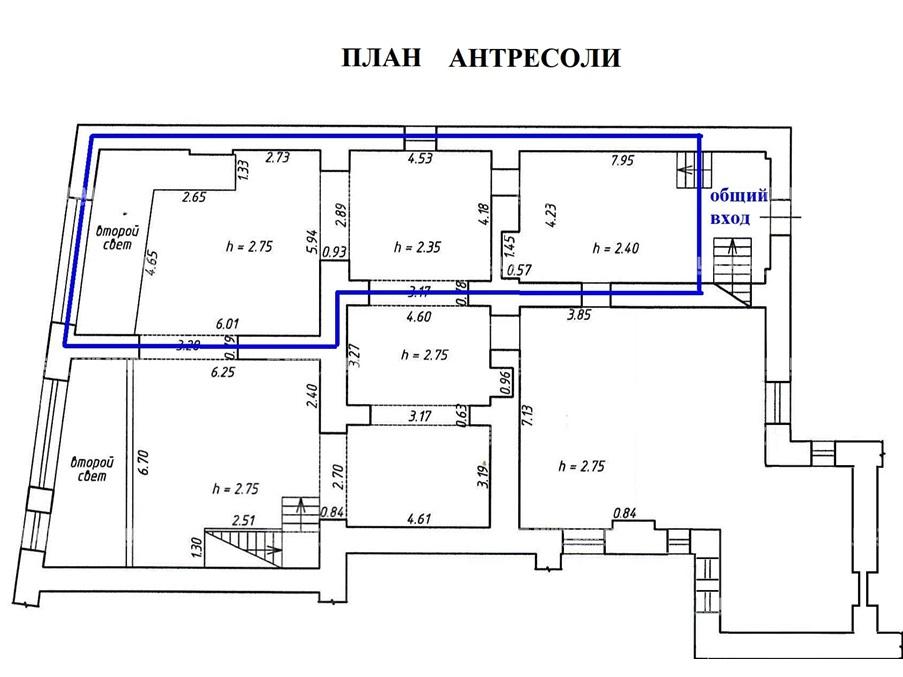 Аренда помещения 196.30 кв.м. Адмиралтейский пр-кт Загородный, 45 - фотография №8