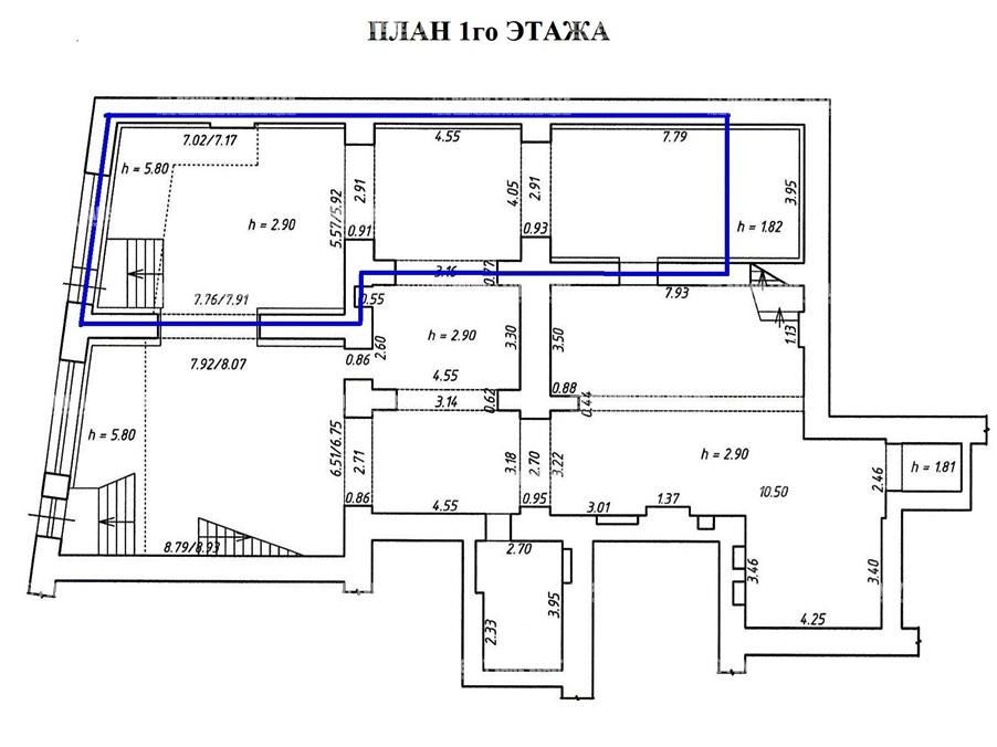 Аренда помещения 196.30 кв.м. Адмиралтейский пр-кт Загородный, 45 - фотография №9