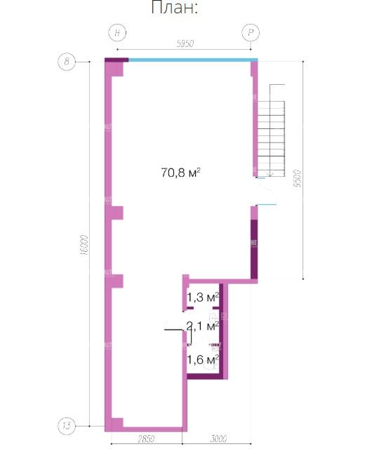 Продажа помещения 79 кв.м. Приморский ул. Оптиков, 34 - фотография №3