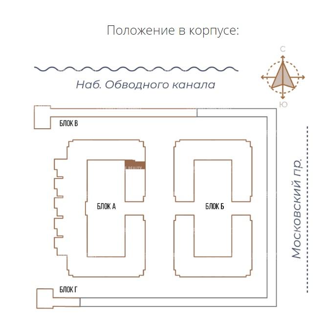 Продажа помещения 116.72 кв.м. Адмиралтейский пр-кт Московский, 65 - фотография №4