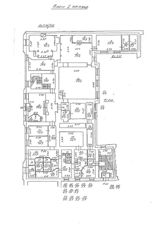 Продажа помещения 2344 кв.м. Центральный ул. Моховая, 10 - фотография №3