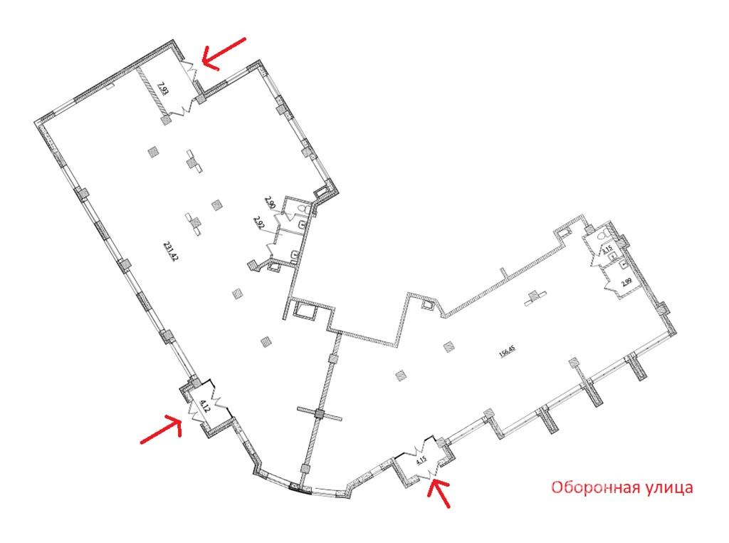 Аренда помещения 416 кв.м. Калининский ул. Оборонная, 37 корпус 1 - фотография №6