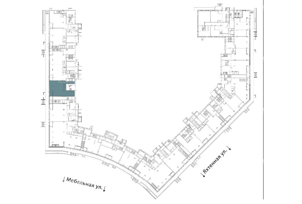 Аренда помещения 98.70 кв.м. Приморский ул. Мебельная, 19 корпус 2 - фотография №6