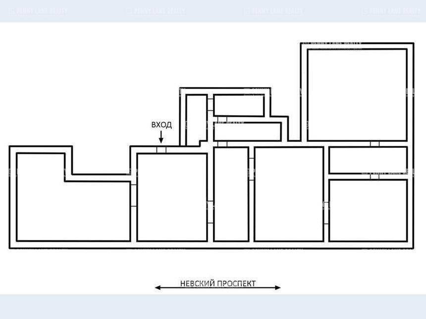 Продажа помещения 970 кв.м. Центральный пр-кт Невский, 150, лит.А - фотография №7