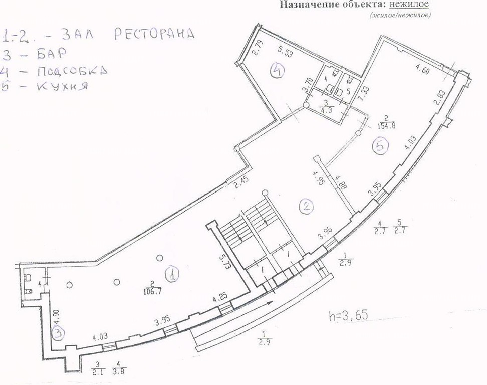 """аренда - """"наб. Морская, 21, к.2, лит.А"""" - на spret.realtor.ru - фотография №6"""