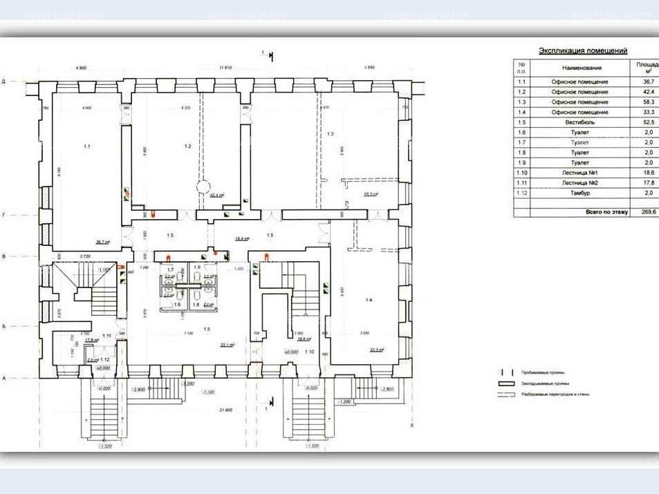 Продажа здания 1734 кв.м. Центральный наб. Синопская, 68 - на spret.realtor.ru - фотография №10