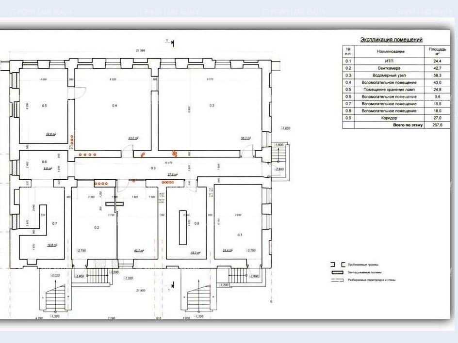Продажа здания 1734 кв.м. Центральный наб. Синопская, 68 - на spret.realtor.ru - фотография №12