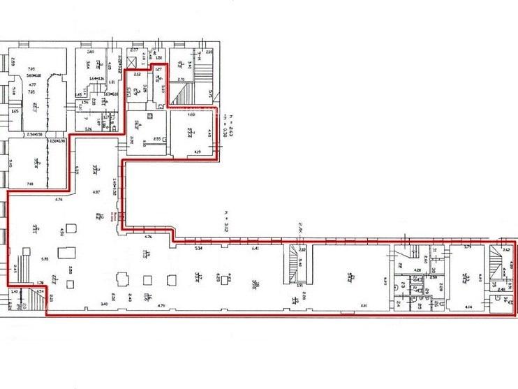 Продажа помещения 520 кв.м. Центральный пр-кт Невский, 40-42 - фотография №6