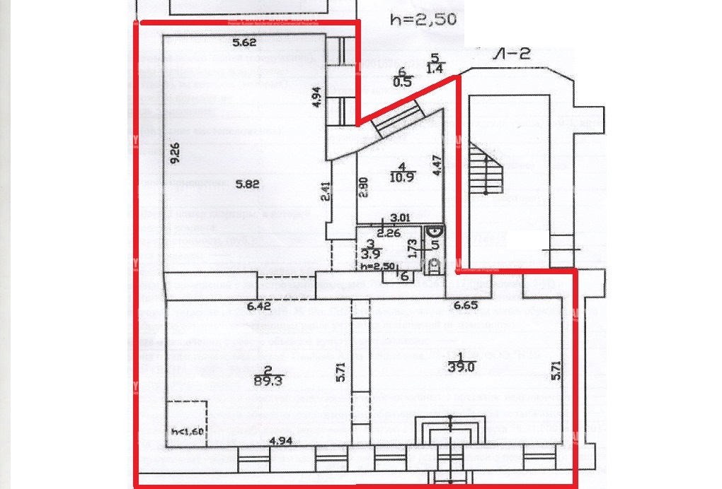 Аренда помещения 145 кв.м. Центральный ул. Звенигородская, 4 - фотография №5