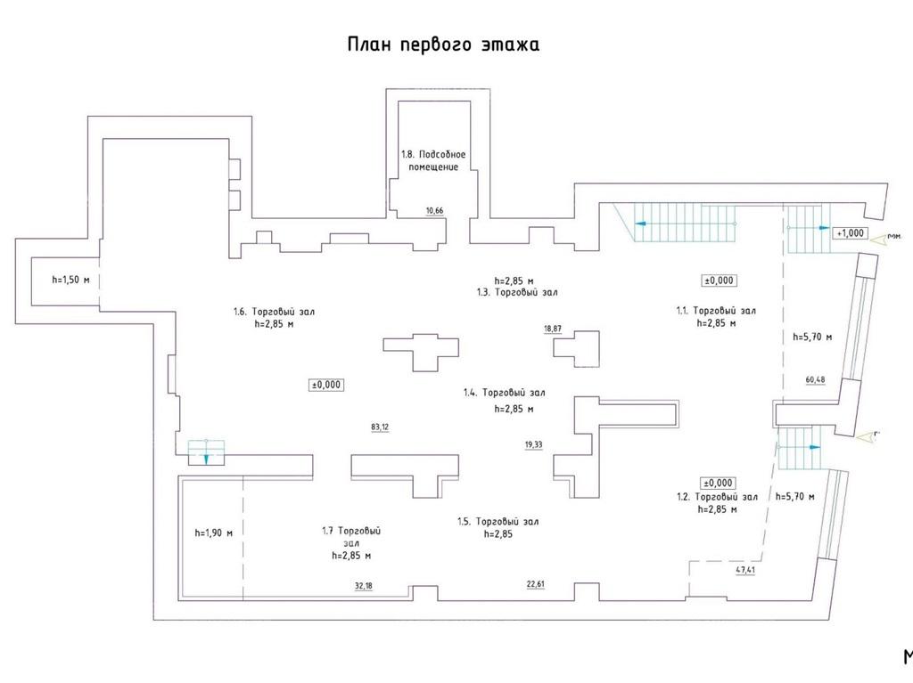 Аренда помещения 600 кв.м. Адмиралтейский пр-кт Загородный, 45 - фотография №7