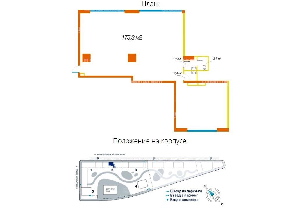 """продажа - """"пр-кт Комендантский, 58"""" - на spret.realtor.ru"""