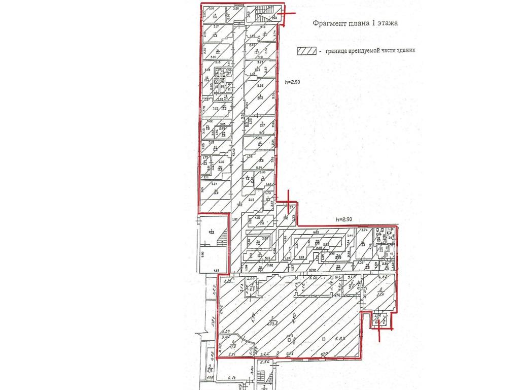 Аренда помещения 800 кв.м. Центральный ул. Артиллерийская, 1-3 - на spret.realtor.ru - фотография №2