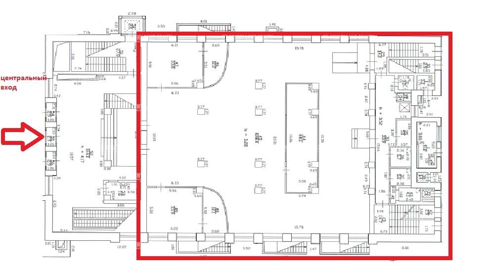 Аренда помещения 640 кв.м. Приморский ул. Савушкина, 21 - фотография №5