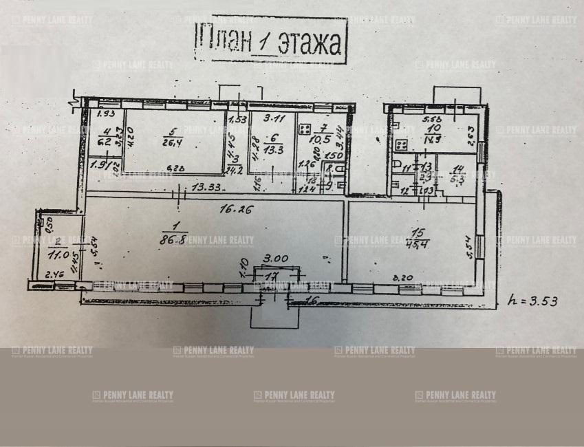 Аренда помещения 284.50 кв.м. Красногвардейский ул. Маршала Тухачевского, 1 - фотография №3
