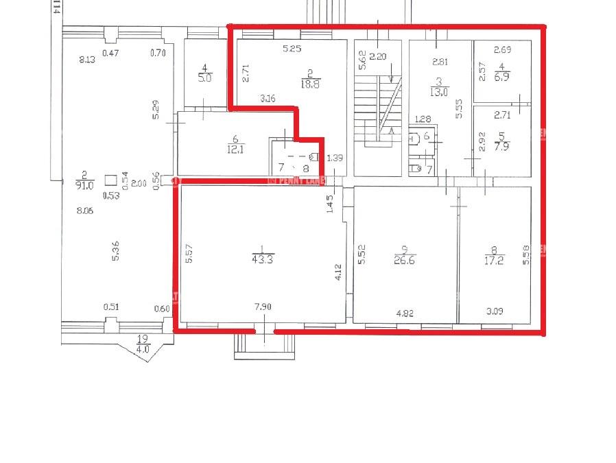 Аренда помещения 135.80 кв.м. Красногвардейский пр-кт Среднеохтинский, 1, к1 - фотография №7