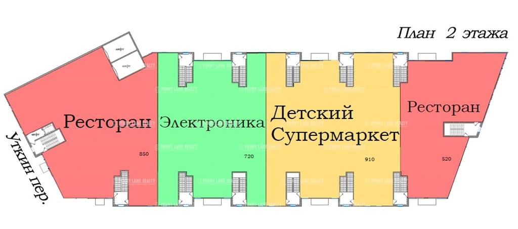 Аренда помещения 910 кв.м. Красногвардейский пр-кт Заневский, 65 - фотография №3