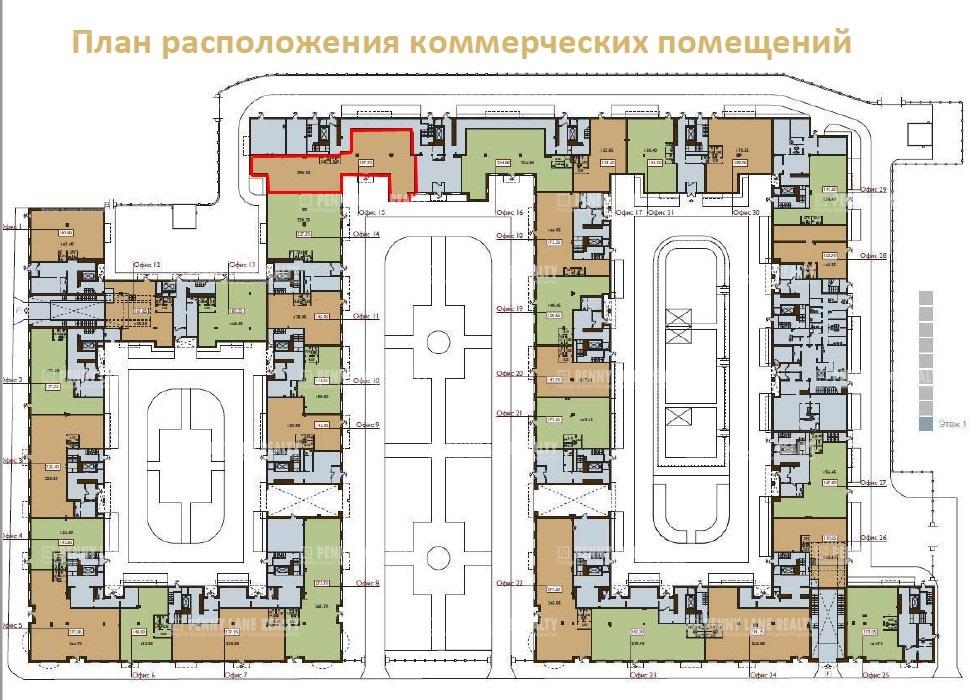 Аренда помещения 290 кв.м. Центральный пер. Басков, 2 - на spret.realtor.ru - фотография №6