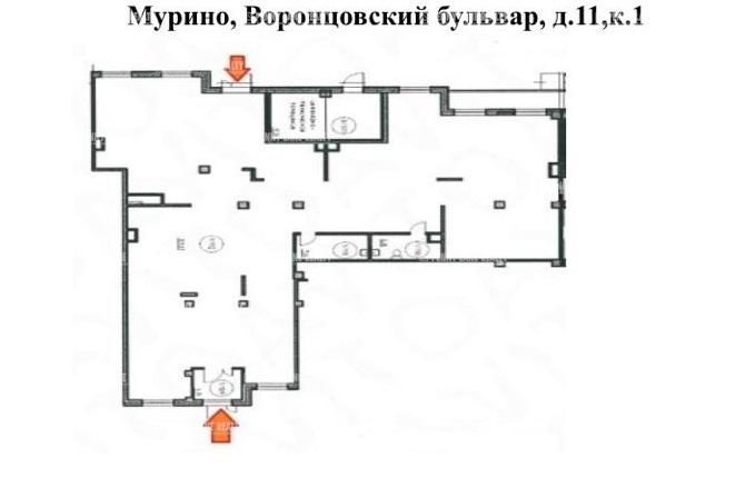 Аренда помещения 350 кв.м. ул. Воронцовский бульвар, 11 к1 - на spret.realtor.ru - фотография №2
