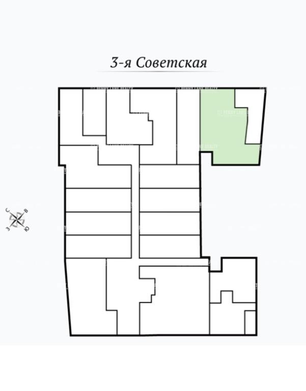 Продажа помещения 201.30 кв.м. Центральный ул. 3-я Советская, 4Б - фотография №4