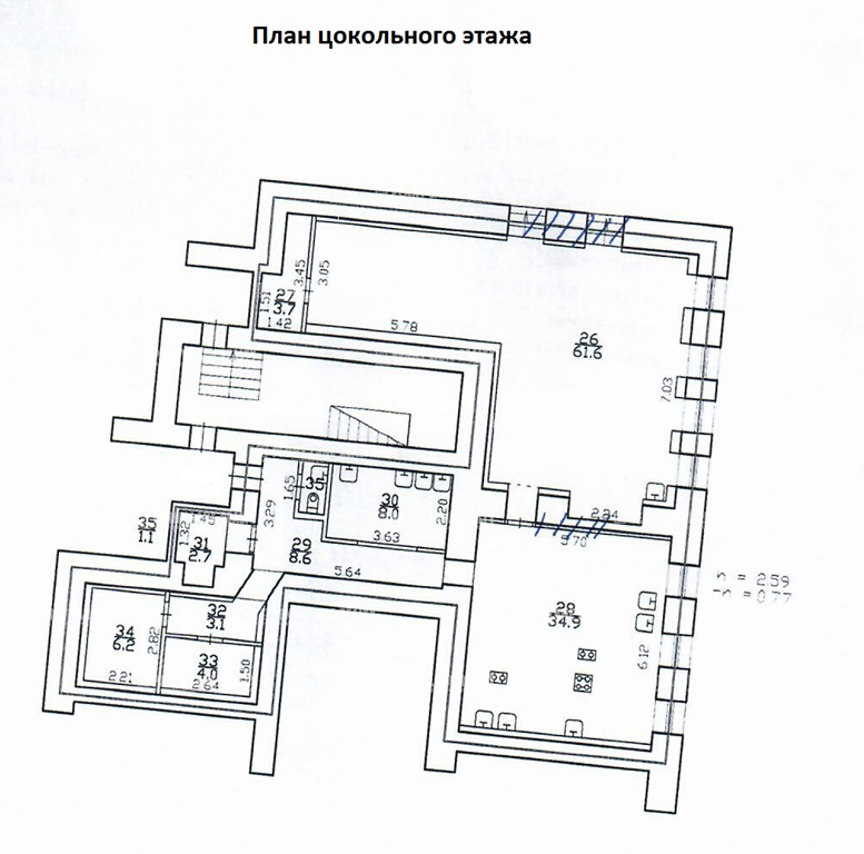 """аренда - """"пр-кт Большой П.С., 7/4"""" - на spret.realtor.ru"""
