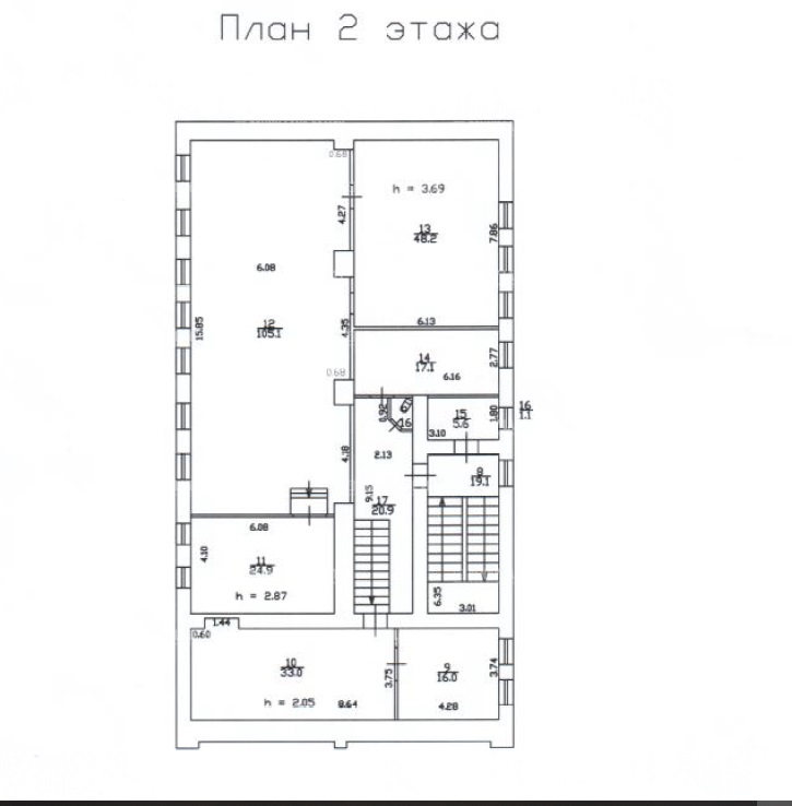 Продажа здания 804.30 кв.м. Московский наб. Обводного Канала, 92 - фотография №9