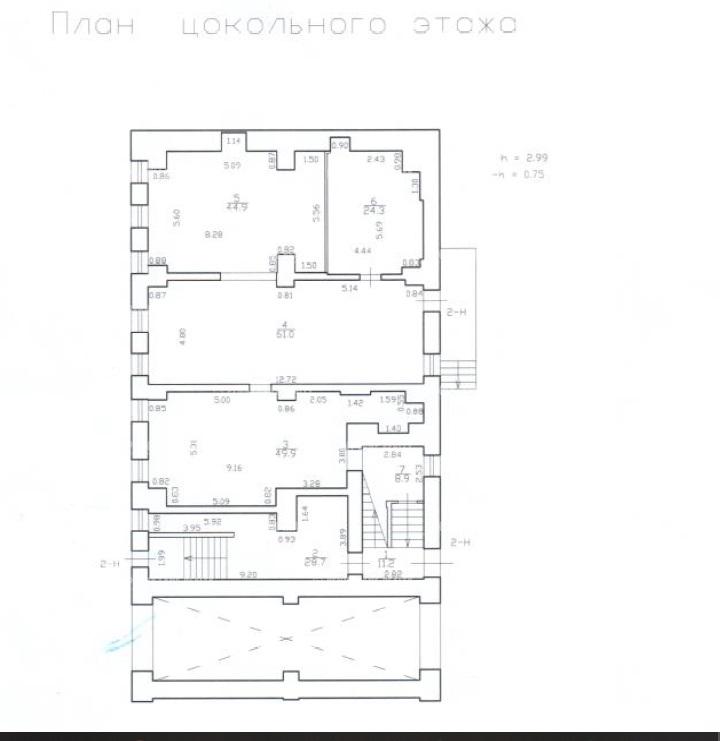 Продажа здания 804.30 кв.м. Московский наб. Обводного Канала, 92 - фотография №11