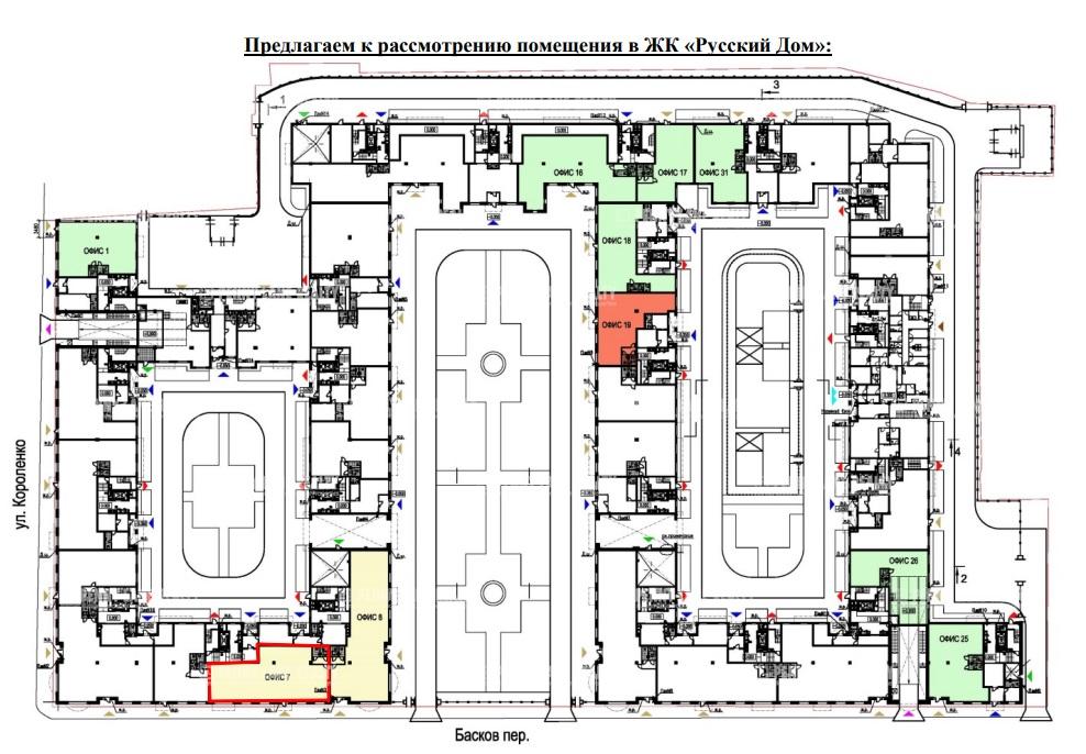 Продажа магазина 238.95 кв.м. Центральный пер. Басков, 2 - фотография №5