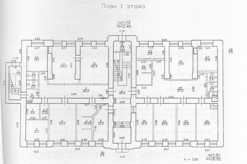 Продажа здания 2259 кв.м. Петроградский ул. Большая Пушкарская, 35 - фотография №3