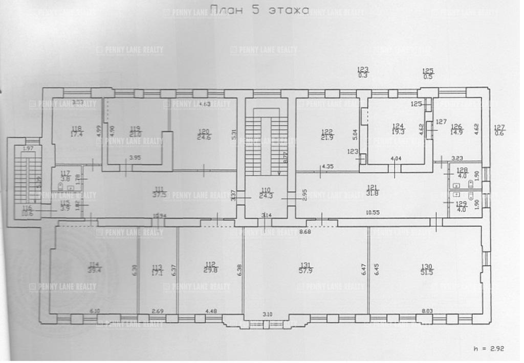 Продажа здания 2259 кв.м. Петроградский ул. Большая Пушкарская, 35 - фотография №7