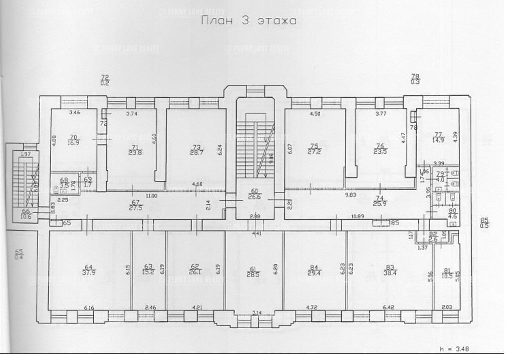 Аренда помещения 2259 кв.м. Петроградский ул. Больщая Пушкарская, 35 - фотография №5
