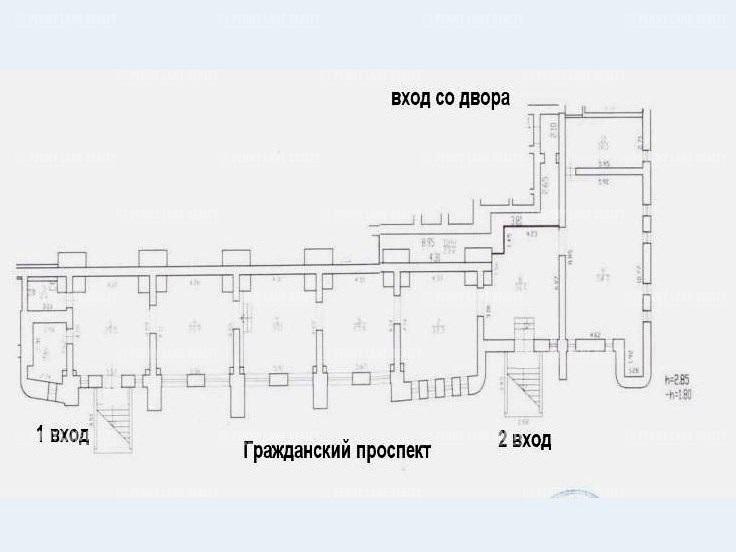 """продажа - """"пр-кт Гражданский, 118,корп.1, литера А"""" - на spret.realtor.ru"""
