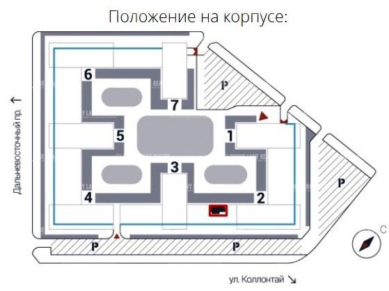 """продажа - """"пр-кт Дальневосточный, 12"""" - на spret.realtor.ru"""